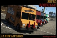 Lore-Friendly Liveries for Brute Retro Bus (IVPack / GTA IV style)