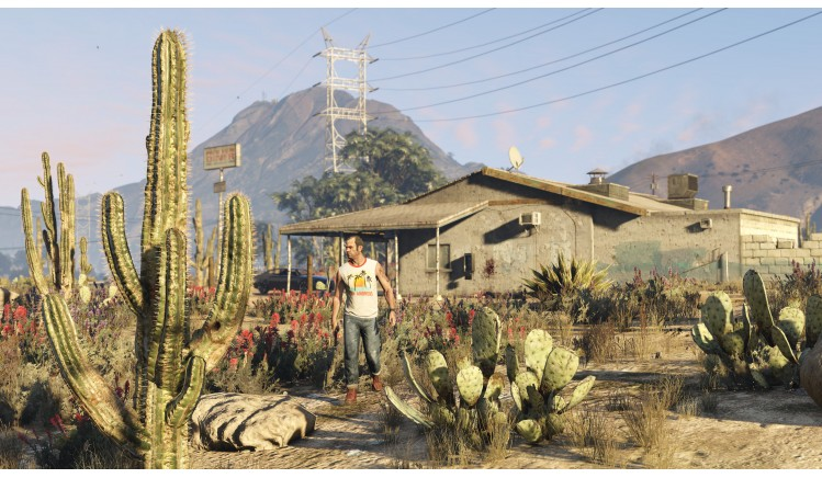 Official Screenshot Pc Trevor In The Desert